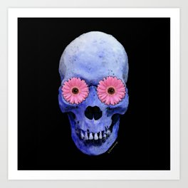 Day Of The Dead 1 by Sharon Cummings Art Print