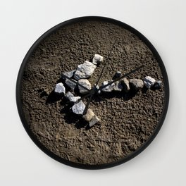 Stone arrow Wall Clock
