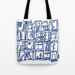 Day by Day, what makes one day diferent than other. Tote Bag