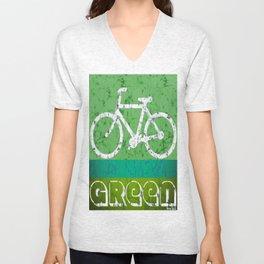 bicycle Unisex V-Neck