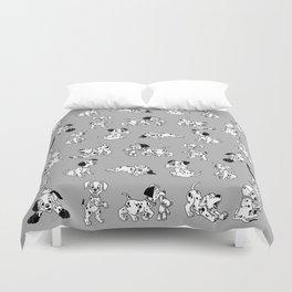 101 Dalmatians B&W Duvet Cover