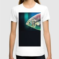 swim T-shirts featuring Swim by Iain Christopher Mclellan Bastidas
