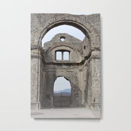 Ruins of the Church of the Assumption of Virgin Mary Metal Print