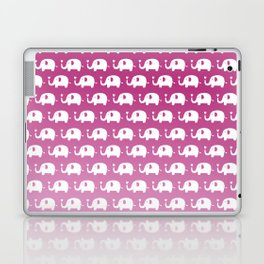 Elephants in Love (Pink) Laptop & iPad Skin