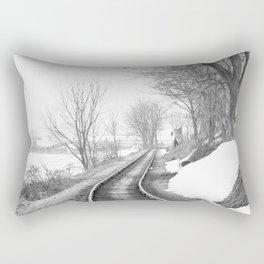 Down the line Rectangular Pillow