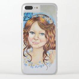 Little flower fairy Clear iPhone Case