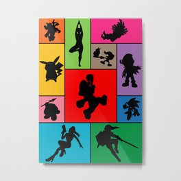 Super Smash Bros Who they are? Metal Print