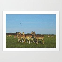 Oh Deer (Artistic/Alternative) Art Print