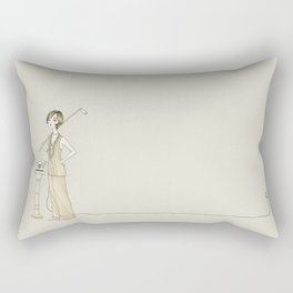 The Great Gatsby - Movies & Outfits Rectangular Pillow