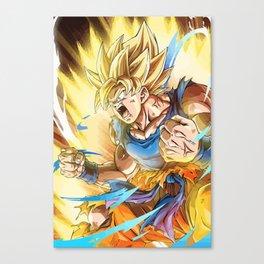 Dragon Ball - Goku Super Saiyan Canvas Print