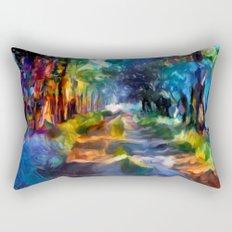 Route coloré Rectangular Pillow