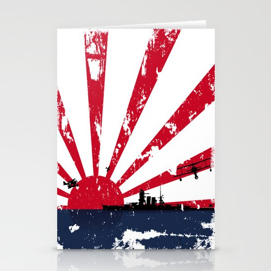Imperial Japanese Navy Stationery Cards