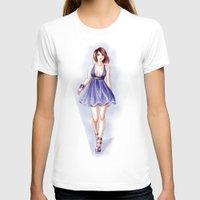 fashion illustration T-shirts featuring Fashion illustration by Tania Santos