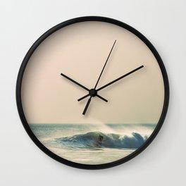 Surfing - October Breezes Wall Clock