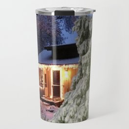 Winter Beauty Travel Mug