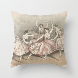 Ballet Throw Pillow