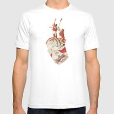 Sig Or Etts Mens Fitted Tee MEDIUM White