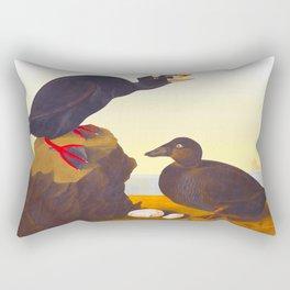 Black or Surf Duck Rectangular Pillow