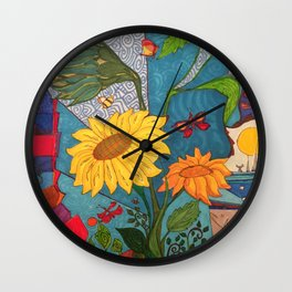 Mariposas Wall Clock
