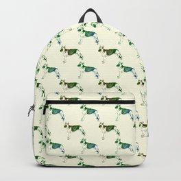 Watercolor German Shepherd Backpack
