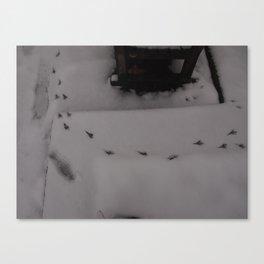 Cold winter - UK Canvas Print