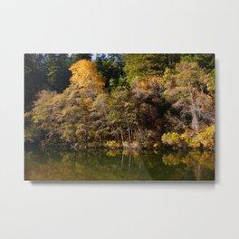 Eel River in Autumn Metal Print
