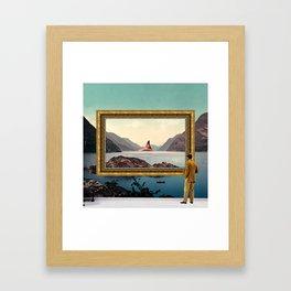 The Curator Framed Art Print