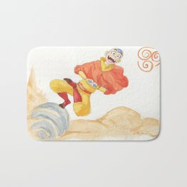 Avatar - Air Bending  Bath Mat