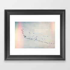 Better Things Ahead Framed Art Print