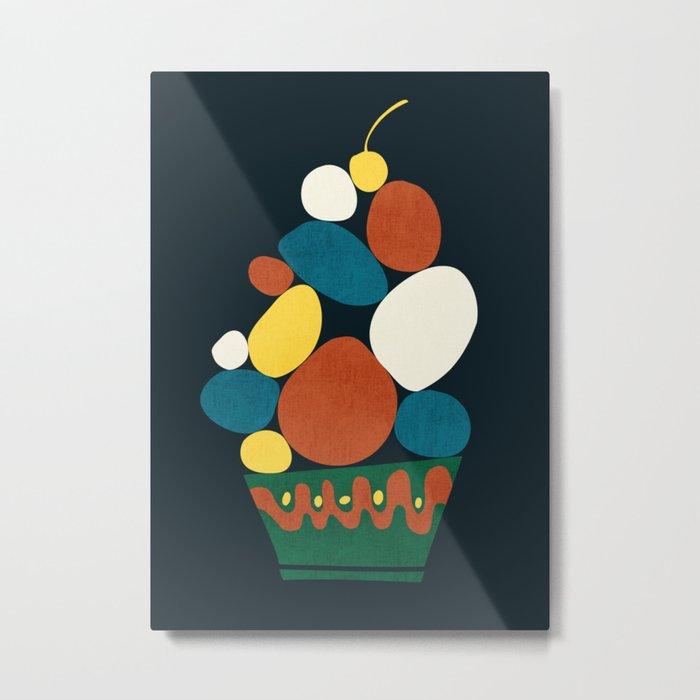 Dessert Metal Print