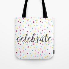 Celebration Lights Tote Bag