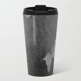 Moon with Horses in Grays Travel Mug