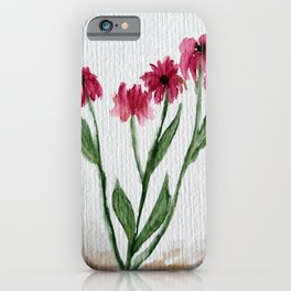 Flowerbed iPhone Case