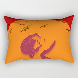 Loser sky Rectangular Pillow