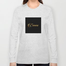 Emma- personalized gifts for girls Long Sleeve T-shirt