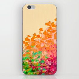 CREATION IN COLOR Autumn Infusion - Colorful Abstract Acrylic Painting Fall Splash Ombre Ocean Waves iPhone Skin