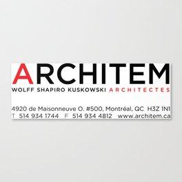 Architem mug without name bigger logo Canvas Print