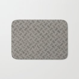 Steel plate for walking on safely. Bath Mat