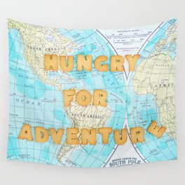 Hungry for adventure Wall Tapestry