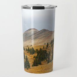 Autumn in the mountains Travel Mug