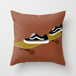 skate 2.0 Throw Pillow