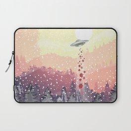 Christmas UFO Laptop Sleeve