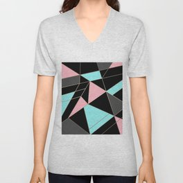 Abstraction . 5 geometric pattern Unisex V-Neck
