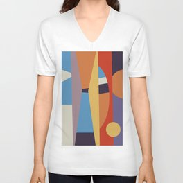 Abstract I Unisex V-Neck