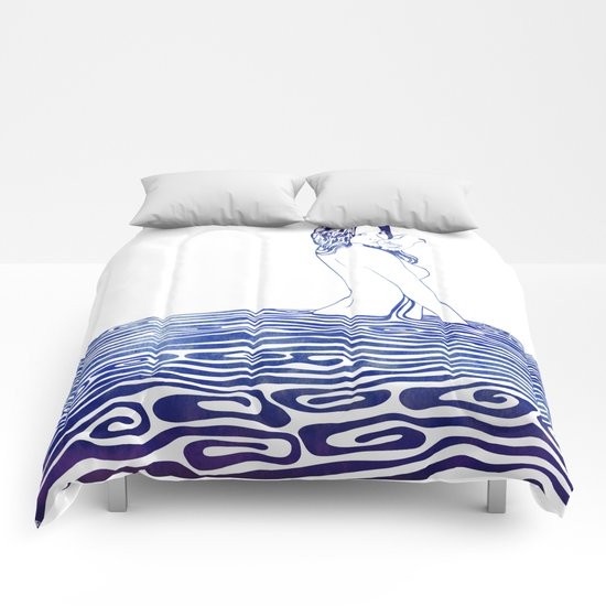 Water Nymph XXV Comforters