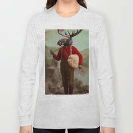 Lumberjack Marvin Moose Long Sleeve T-shirt