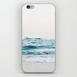 Sea water blue 8 iPhone Skin