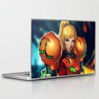 samus Laptop & iPad Skins featuring Samus by PooZ