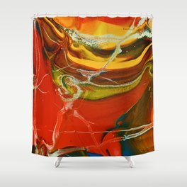 Color Explosion 3 Shower Curtain