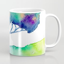 Hue Tree III Coffee Mug
